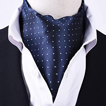 AGWa Los hombres de corbata pañuelo jacquard con dibujos, 46,1 * 5 ...