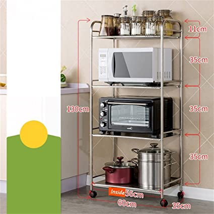 Amazon.com: 4-shelf Kitchen Shelf Unit | Heavy Duty ...