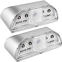 Senhai 2 stuks keyhole Lights, nachtlampjes PIR infrarood draadloze deurslotlamp, auto sensor bewegingsmelder, 4…