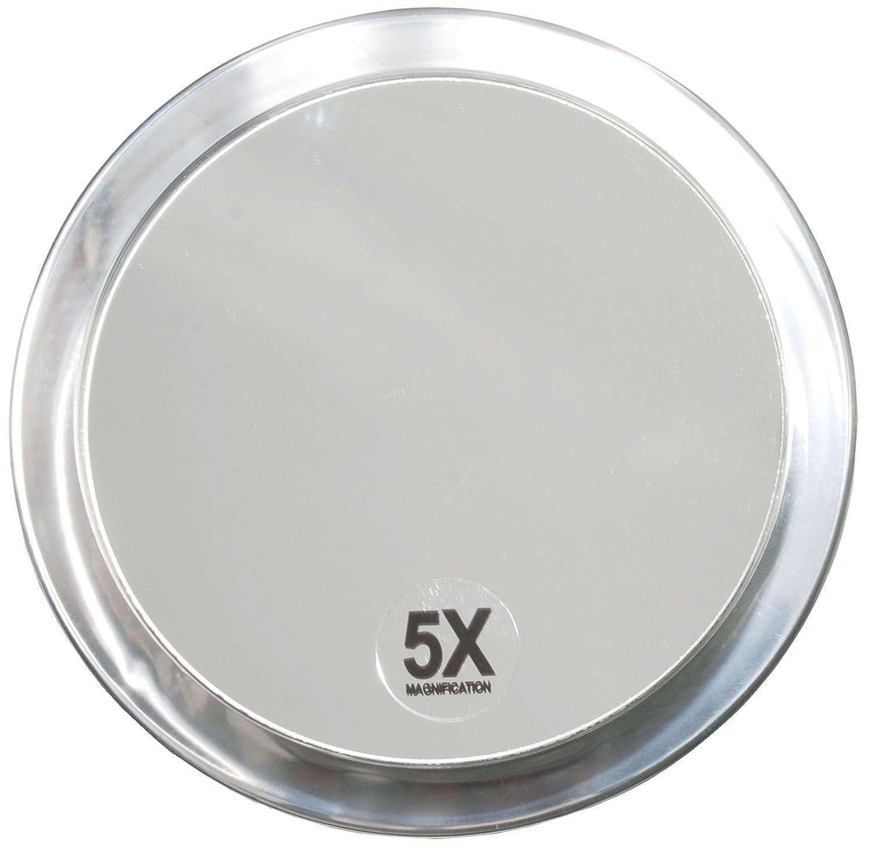 Fantasia - 1355 - Miroir grossissant (x 5) - 2 ventouses - Plastique - ø 15 cm