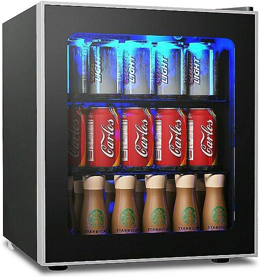 Amazon.com: Nevera y enfriador de bebidas Costway, 60 latas ...