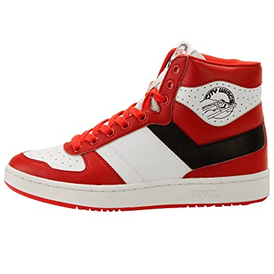 2895a84c747f ... Pony City Wings Hi Trainers - Red-8.5 ...