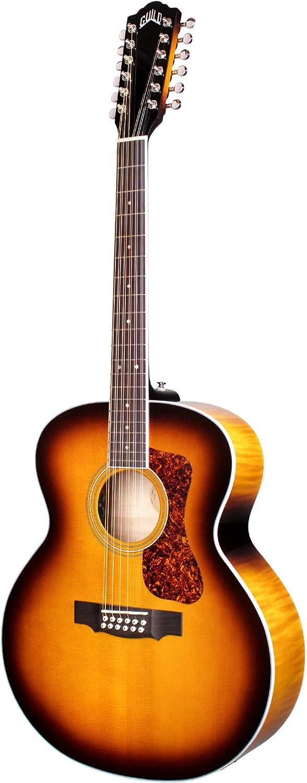 Guild F-2512E Deluxe ATB - Guitarra acústica de 12 cuerdas