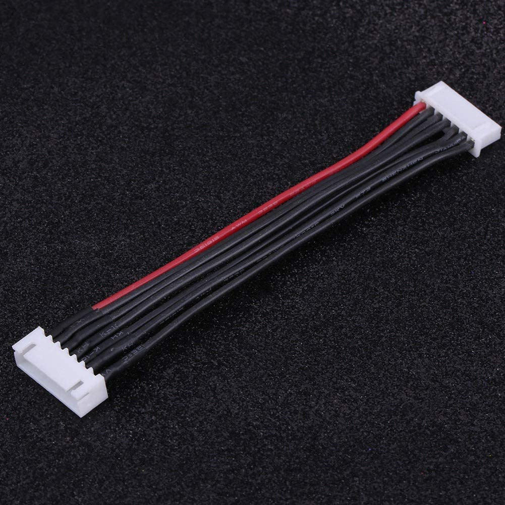Lipo Balance Wire for 2S // 3S // 4S // 5S // 6S Connect Batteries Silicone Jacket 5 Types Battery Balance Lead Male to Female Lipo Balance Cable
