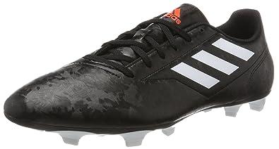 newest collection 27e0e 047e4 adidas Conquisto II Fg Scarpe da Calcio Uomo, Nero (CblackFtwwhtSolred
