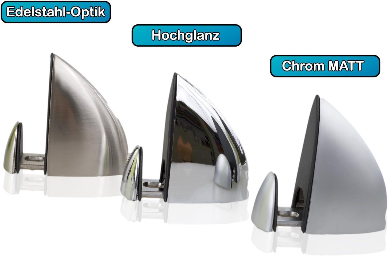 2 x REGALTR/ÄGER Regalbodenhalter Glasbodenhalter Tragkraft 5 KG Glashalter Bodentr/äger