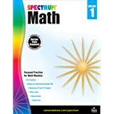 Spectrum First Grade Math Workbook – Addition and Subtraction Mathematics Learning With Examples, Tests, Answer Key for Homes