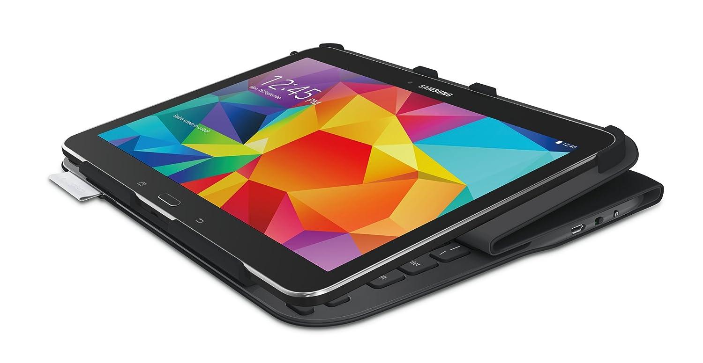 Logitech Ultrathin Clavier-Folio AZERTY pour Samsung Galaxy Tab 4 10,1 Noir