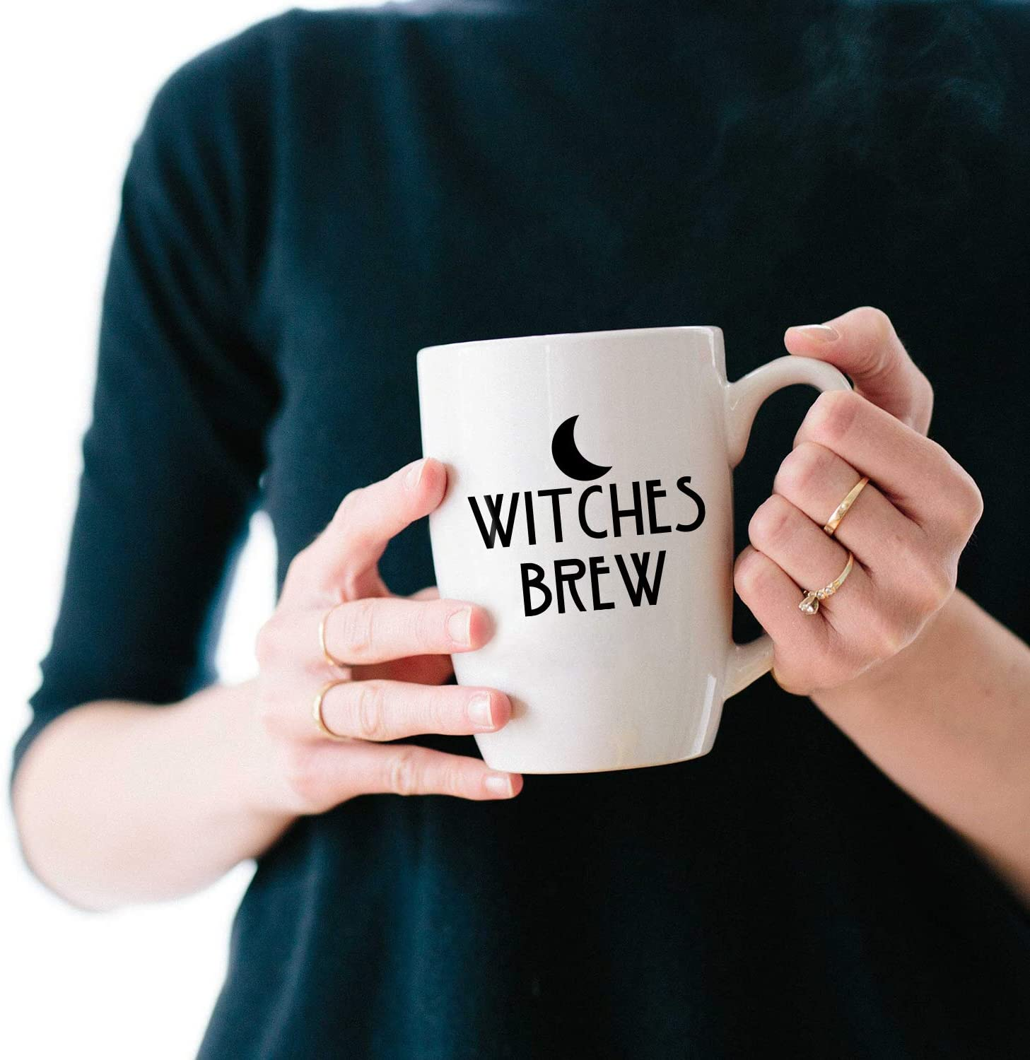 Vinyl Art Wall Decal - Witches Brew & with Eye - 2.5