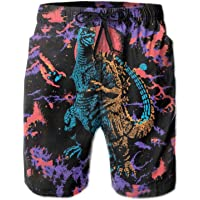 Stop staring at my short Mens Swim Trunk Funny Printed Graphic Summer Beach Shorts Surfing Trunks Swim Shorts Beach Pant Lalone Mens Beachwear Men Shorts