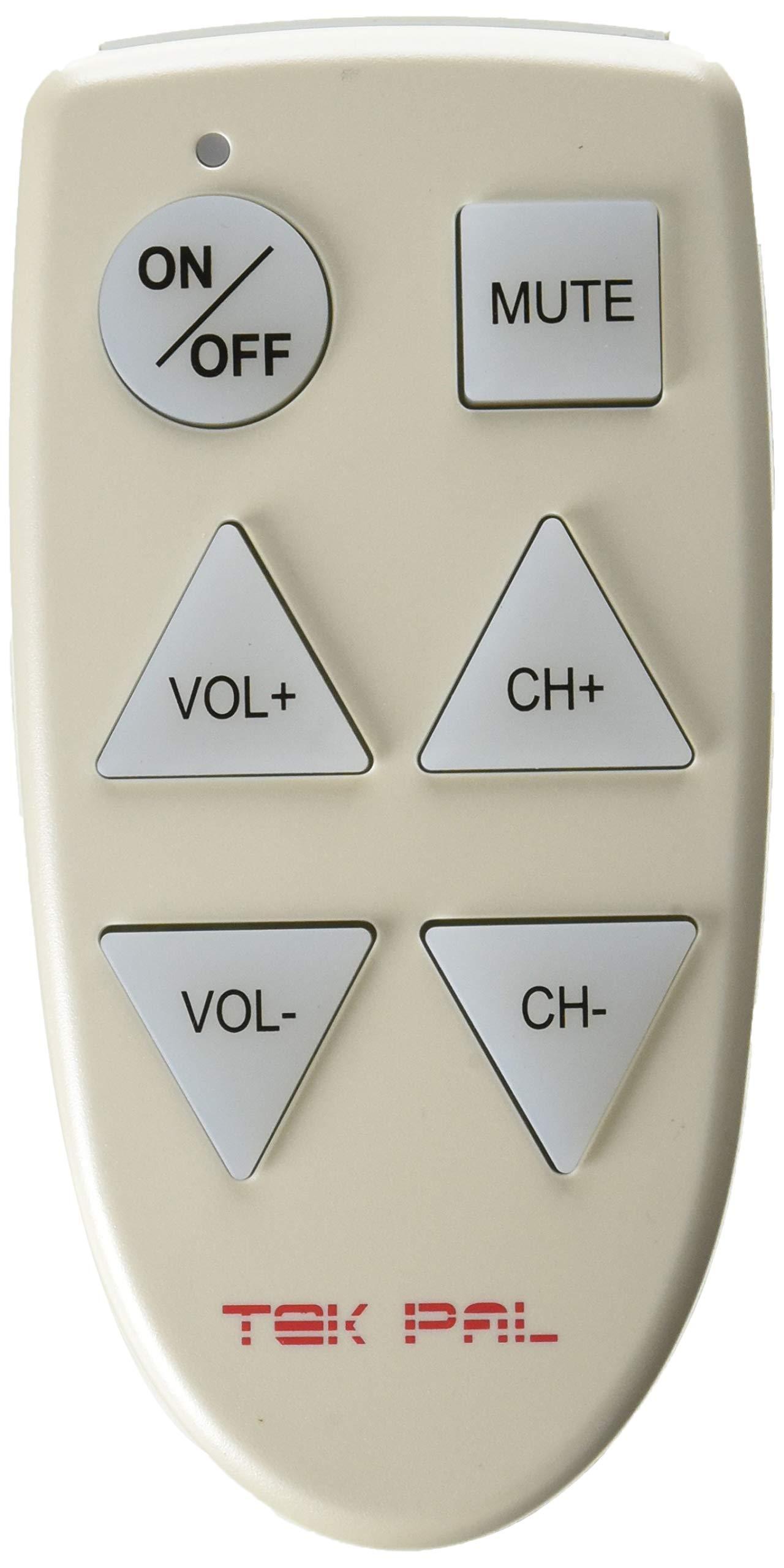 Tek Pal - Large Button TV Remote Control