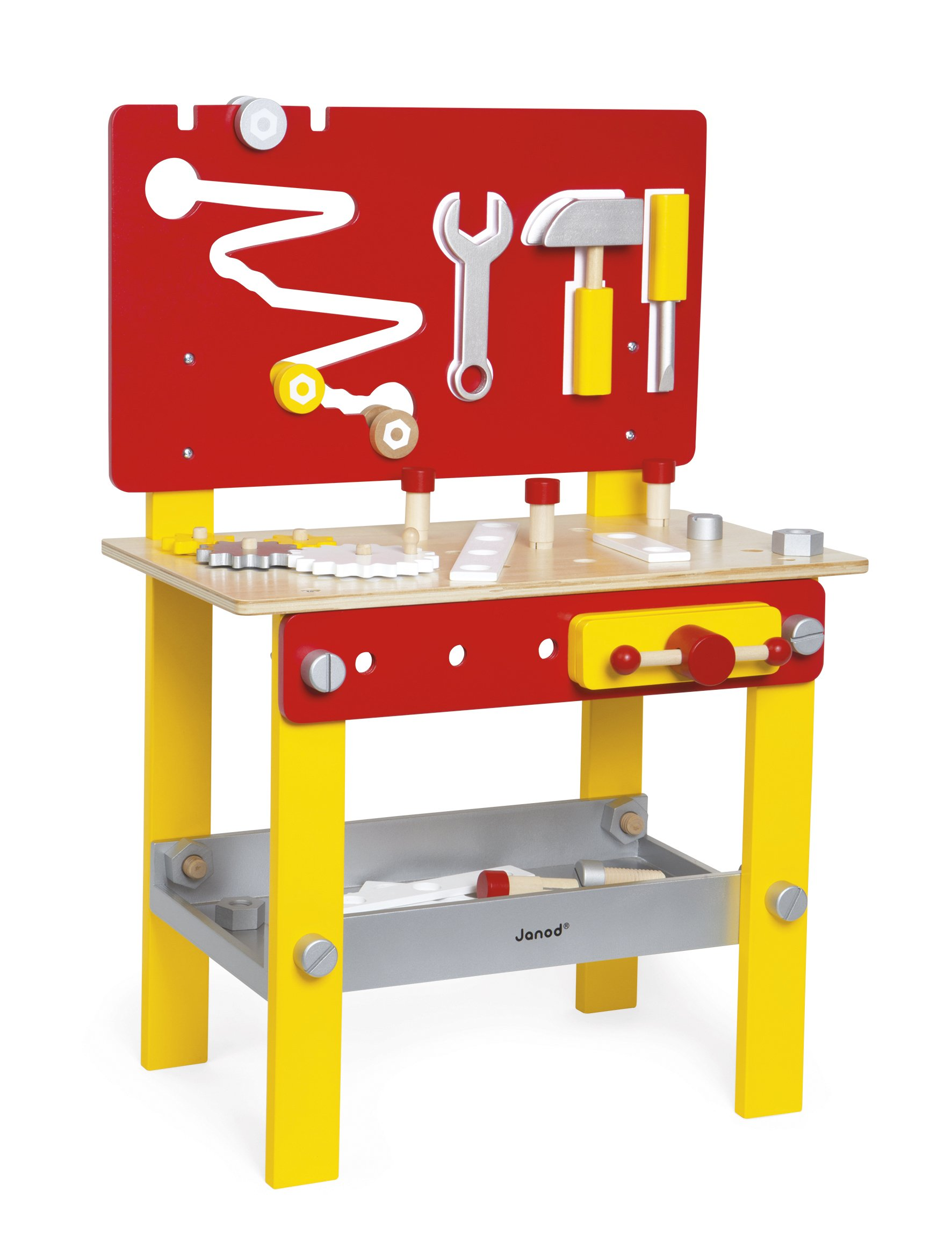 Janod Redmaster DIY Workbench