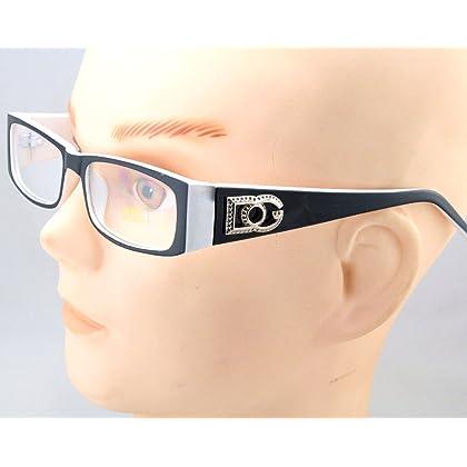 dd0108901bd DG Eyewear Clear Lens Glasses Fashion Mens Womens Designer Rectangular Frame  RX for Christmas