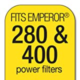 Marineland Emperor Power Filter Cartridge Rite-Size E, 4 Count, Replacement Cartridge For Aquarium Filtration