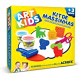 Kit de Massinhas 7 Acrilex 300g