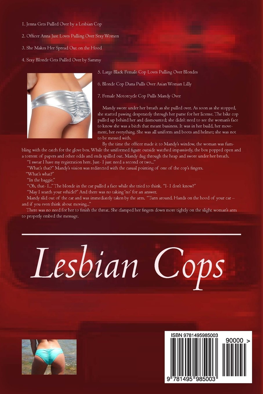 Sexy lesbian police officer