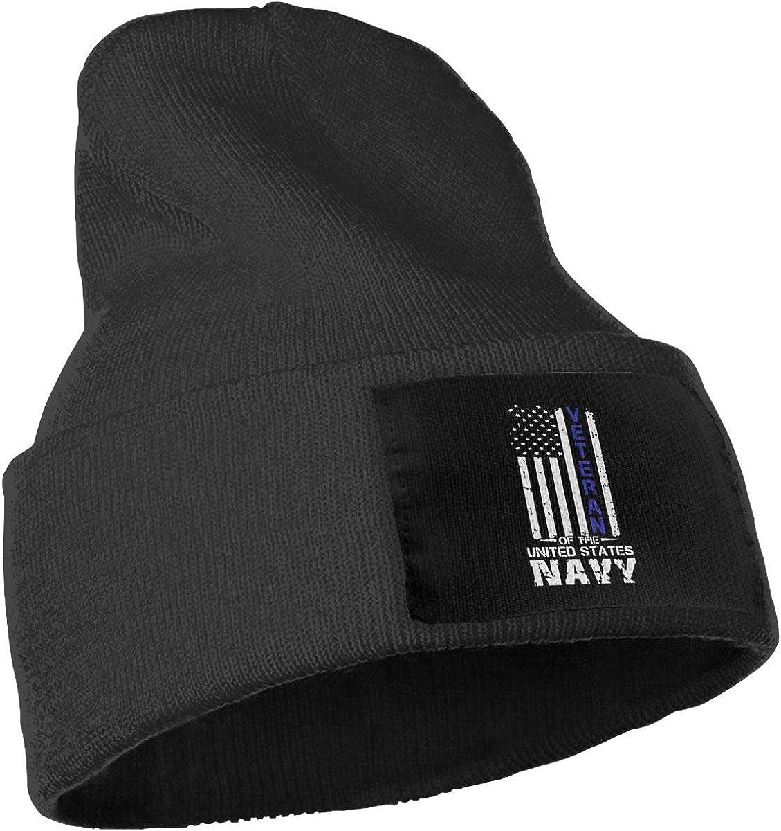 COLLJL-8 Men /& Women US Navy Veteran Outdoor Fashion Knit Beanies Hat Soft Winter Knit Caps