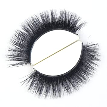 56d3068beab Amazon.com : TDANCE Lashes 3D Mink False Eyelashes 100% Siberian Mink Fur  Handmade Fake Lashes 1 Pair Package(A08) : Beauty