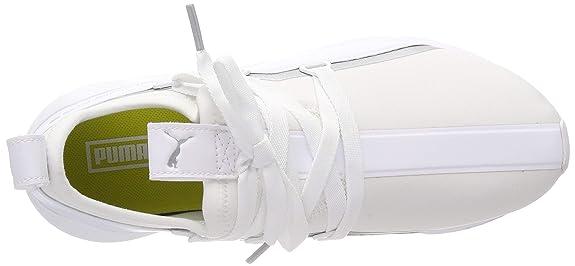 Puma Damen Muse 2 TZ WN's Sneaker, Weiß White Silver, 41 EU