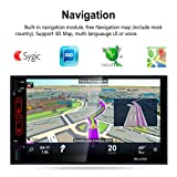 MKChung 7 in HD Touch Screen Android 6.0 Car Player GPS Bluetooth Rear View Camera