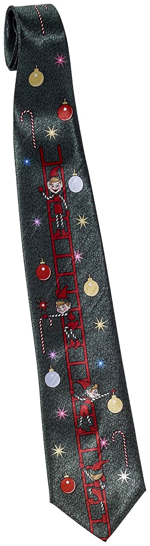 Forum Novelties Mens Decorating Elves Christmas Tie