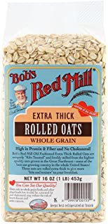 product image for Bob's Red Mill Oats Rolled Thick - 16 oz