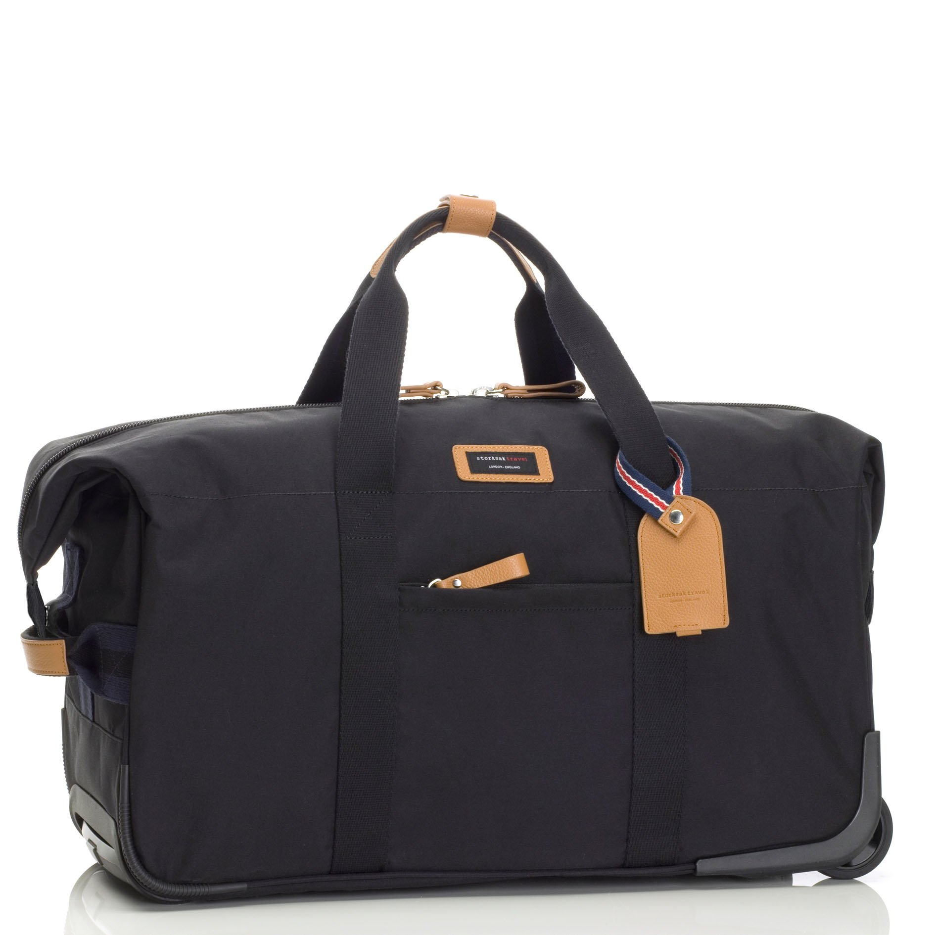 Storksak Travel Cabin Carry On with Organizer, Black