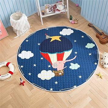 SWECOMZE Baby Krabbeldecke Kinderteppich Cartoon Spielmatte Spielzeug Aufbewahrungsbeutel f/ür Kinderzimmer 150cm Zebra