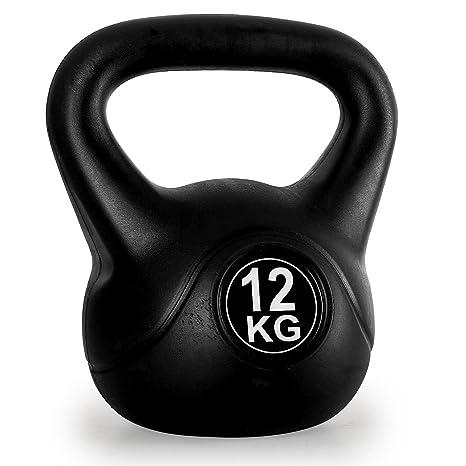 KLAR FIT Trainingshanteln Kettlebell - Mancuerna (de 5,1 a 20 kg ...