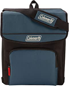 Coleman Collapsible Cooler with 16-Hour Ice Retention | Soft-Sided Cooler Bag Folds Flat for Compact Storage
