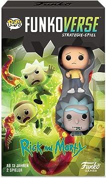 Funko 43485 Rick and Morty 100 Funkoverse - Juego de Mesa (2 Personajes: Amazon.es: Juguetes y juegos