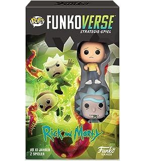 Funko Juego de Mesa Funkoverse 2 Jugadores Rick y Morty: Amazon.es: Juguetes y juegos