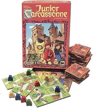 Devir - Carcassonne Junior, Juego de Mesa (BGJCARCAS): Amazon.es: Juguetes y juegos
