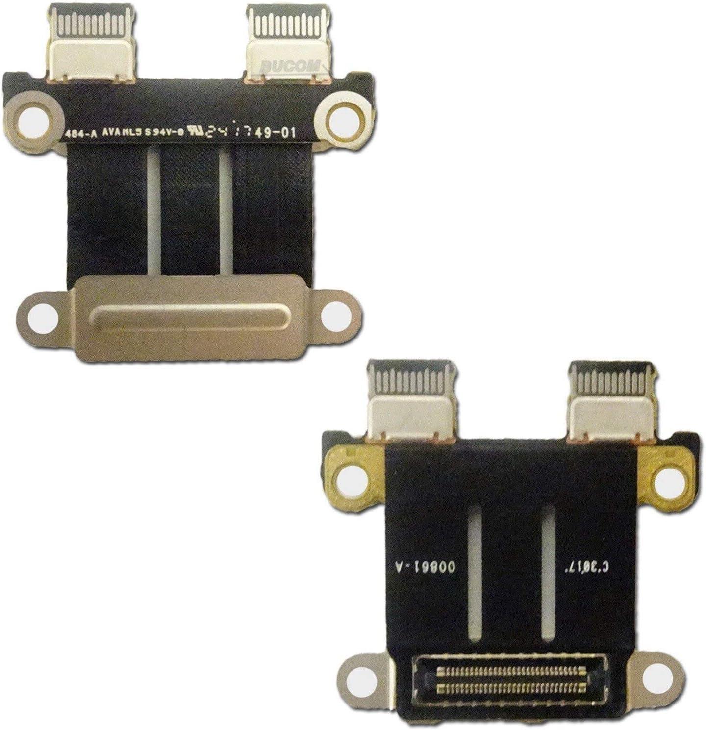 DC Power Jack I//O Board For Macbook Pro 13 Inch 15 Inch A1706 A1707 A1708 820-00484-02 Kul-Kul