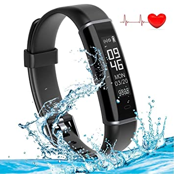 CJZSA Shinmax Fitness Tracker Bands, Smart Band Llamadas ...