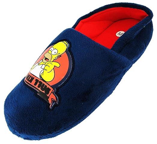Zapatos azul marino Los Simpsons Duff para hombre DmyM5A20xN
