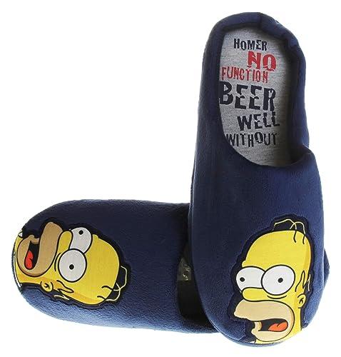Hombre Simpsons Guinness Pantuflas de Mula Zapatillashttps://amzn.to/2DQSp0y