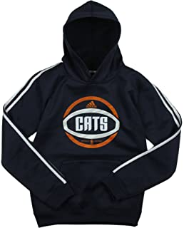 782839faa35a adidas Charlotte Bobcats NBA Big Boys 3 Stripe Pullover Hoodie Navy