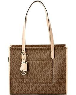 34cc6574c16b Michael Kors Mott Leather Tote - ADMIRAL - 30F7GOXT2L-414: Handbags ...