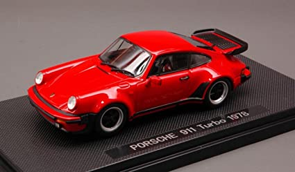 EBBRO 1/43 Scale Prefinished Fully-Detailed Diecast Model, 1978 Porsche 911 Turbo