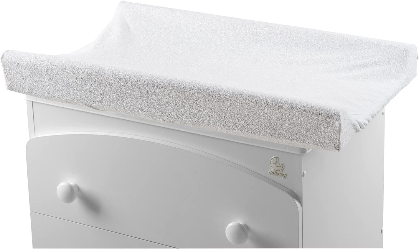 Italbaby Cover for Changing Pad Multi-Color One Size White