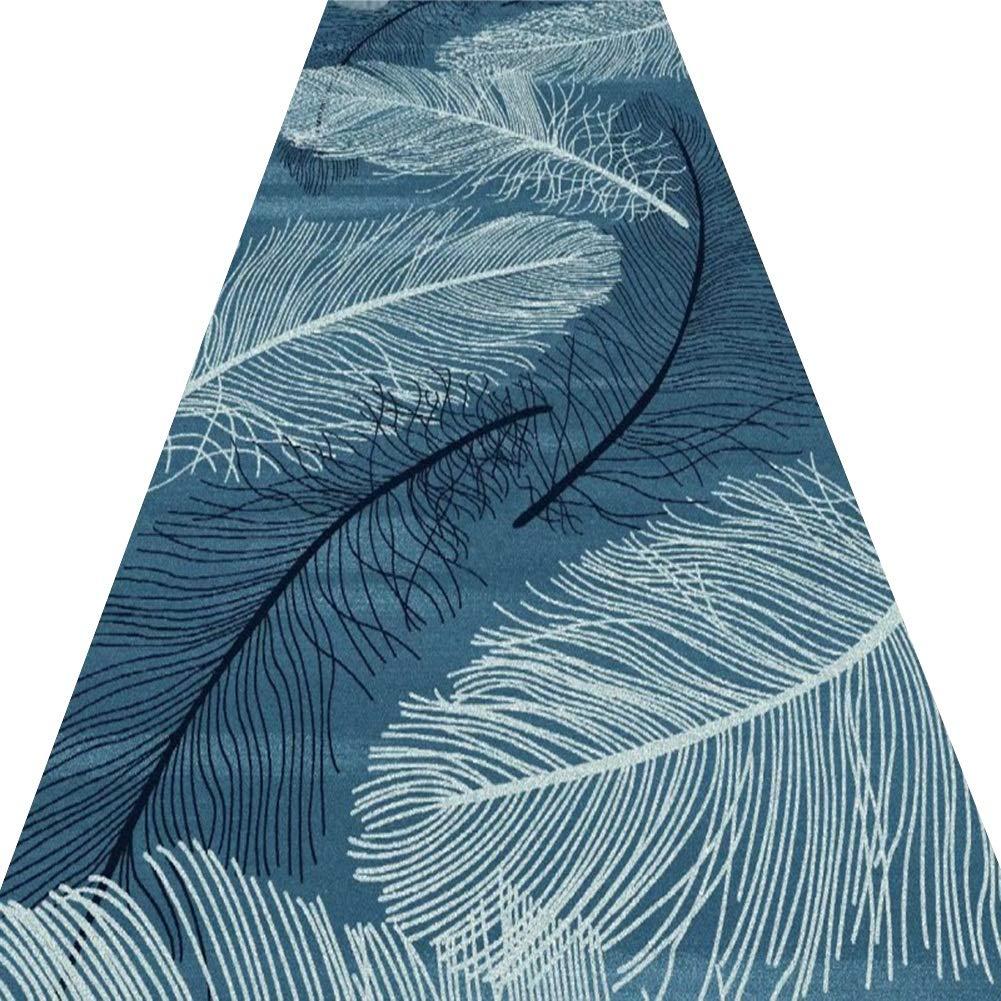 Plusieurs Tailles Couleur : A, taille : 0.6x1.5m ZRUYI Tapis Couloir Tapis De Passage Dall/ée Impression Et Teinture 3D Style Abstrait Salon Balcon Antid/érapant Lavable