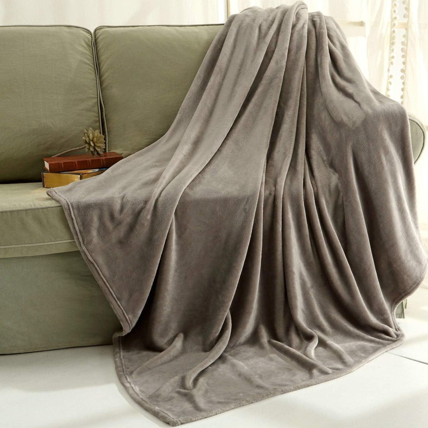 Super Soft Snuggle blanket Living area blanket Natural Colours Von Dutch Decor 130x180 cm NEW