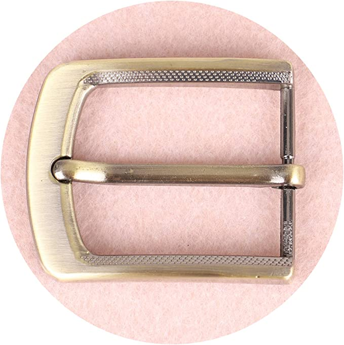 Hebilla de Repuesto Cuadrada de un Solo Diente Hebilla de Cintur/ón de Aleaci/ón de 1,37 Pulgadas 32-35 mm
