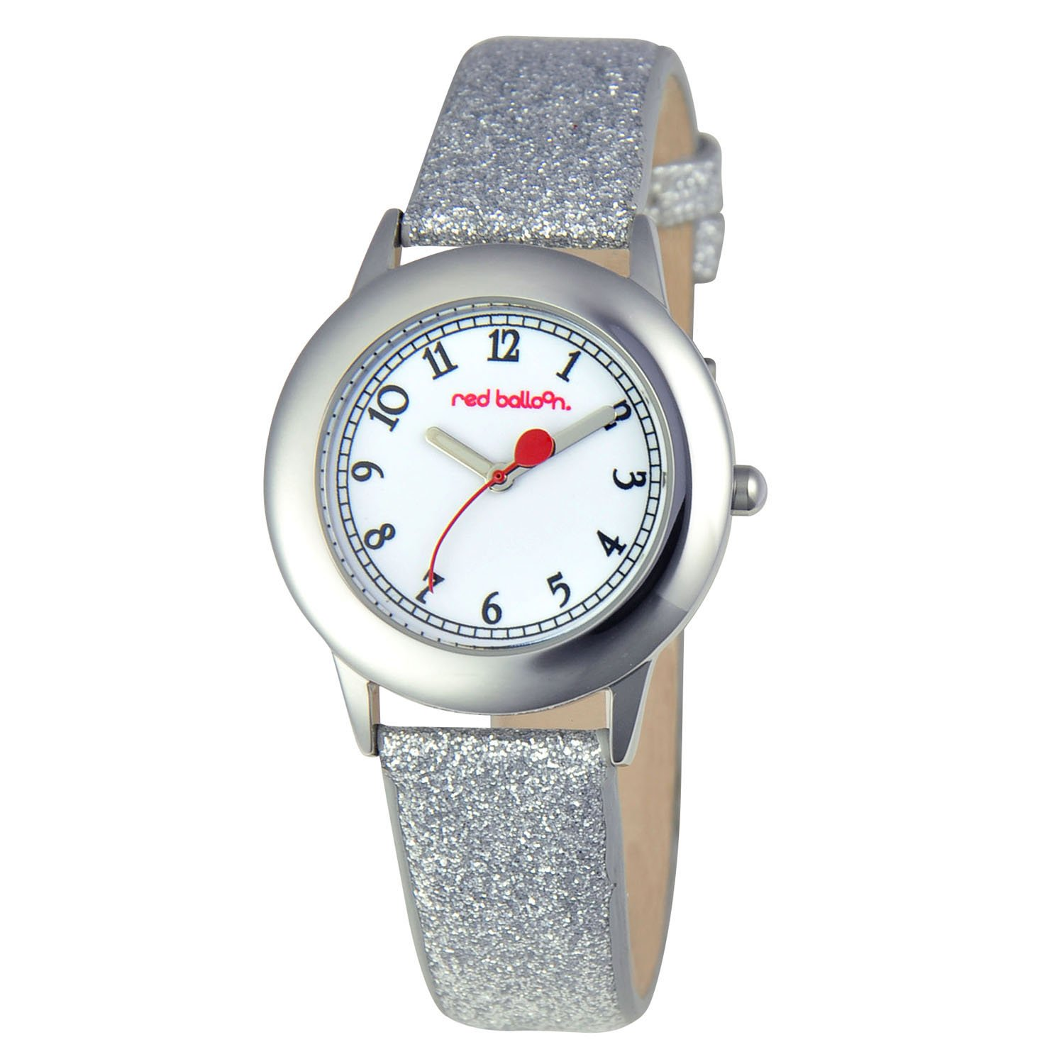 Red Balloon Kids' W000352 ''Tween'' Stainless Steel Watch with Silver Glittered Band by Red Balloon