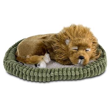 Peluche Mascota Respira Cachorrito León