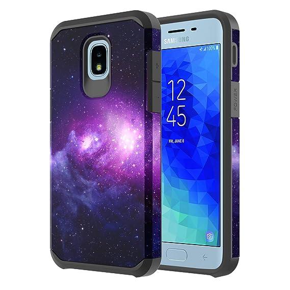 Samsung Galaxy J3 Achieve/J3 Star/J3 V 2nd Gen /J3 2018/Express Prime 3/Sol  3/Amp Prime 3 2018 Case, Onyxii Hybrid Graphic Protective Armor Cover Case