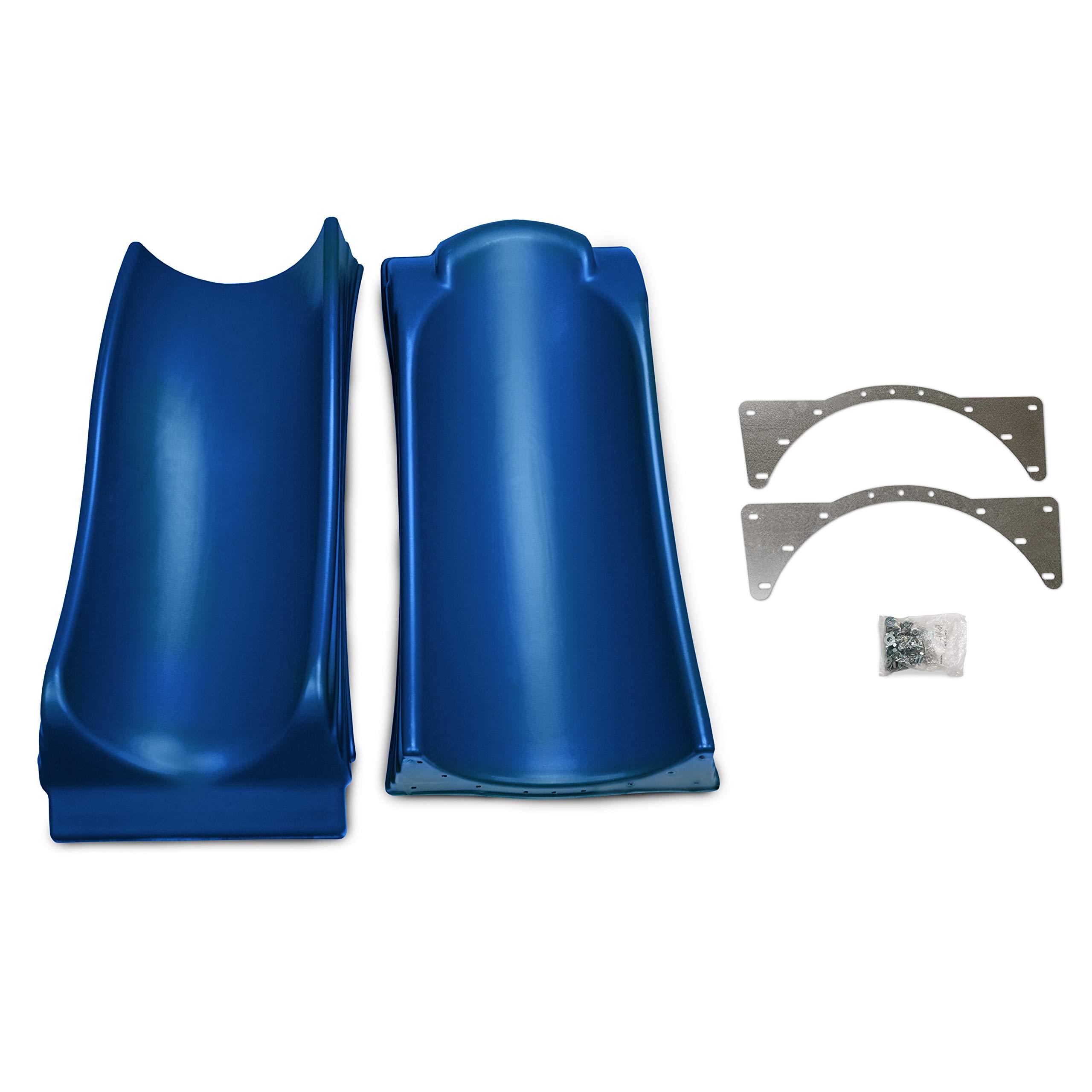 Swing-N-Slide WS 5032 Olympus Wave Slide 2 Piece Plastic Slide for 5' Decks, Blue by Swing-N-Slide (Image #5)
