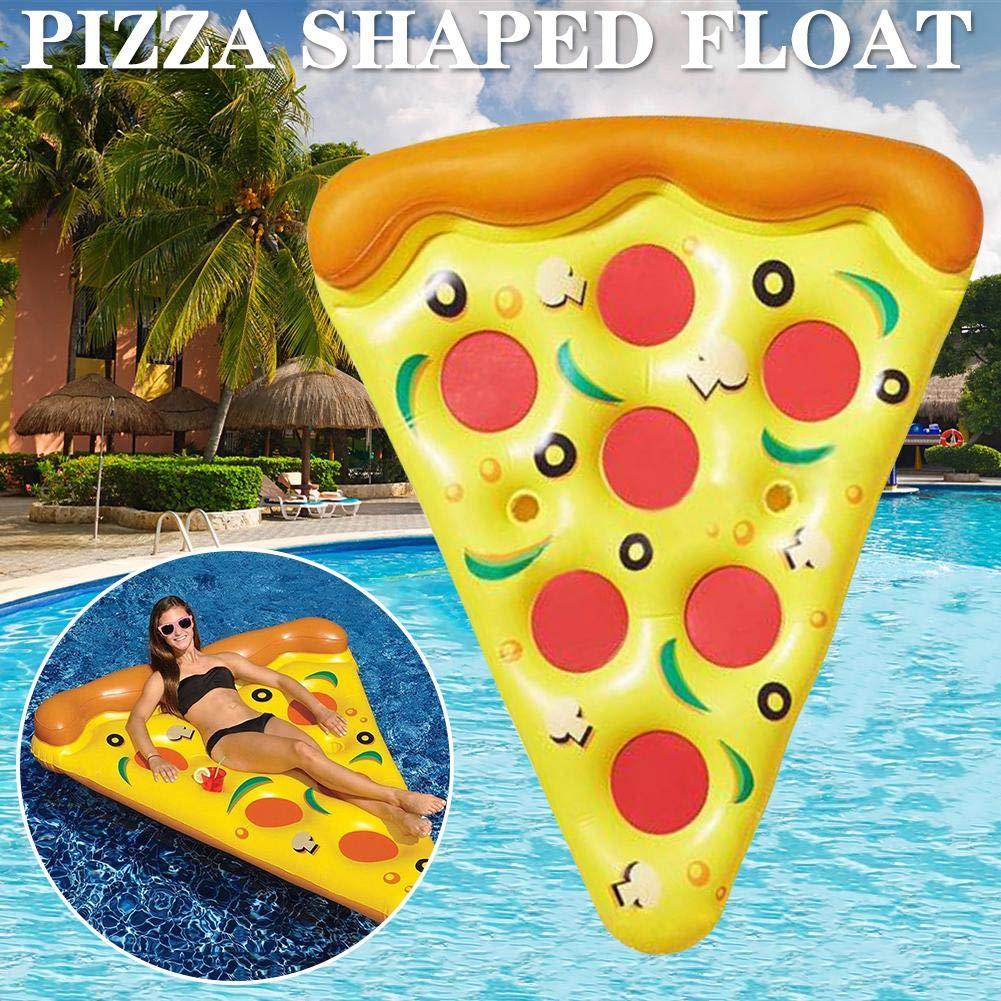 Gran Cama Inflable Flotante de Agua Cama Flotante Pizza Inflable ...