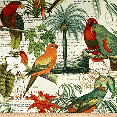 Richloom Solarium Outdoor El Centro Jungle Fabric By The - El Centro Hours